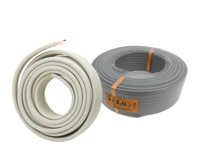 PAIR COIL & VVF CABLE.